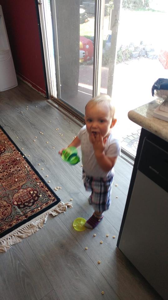 Kid-proof floors