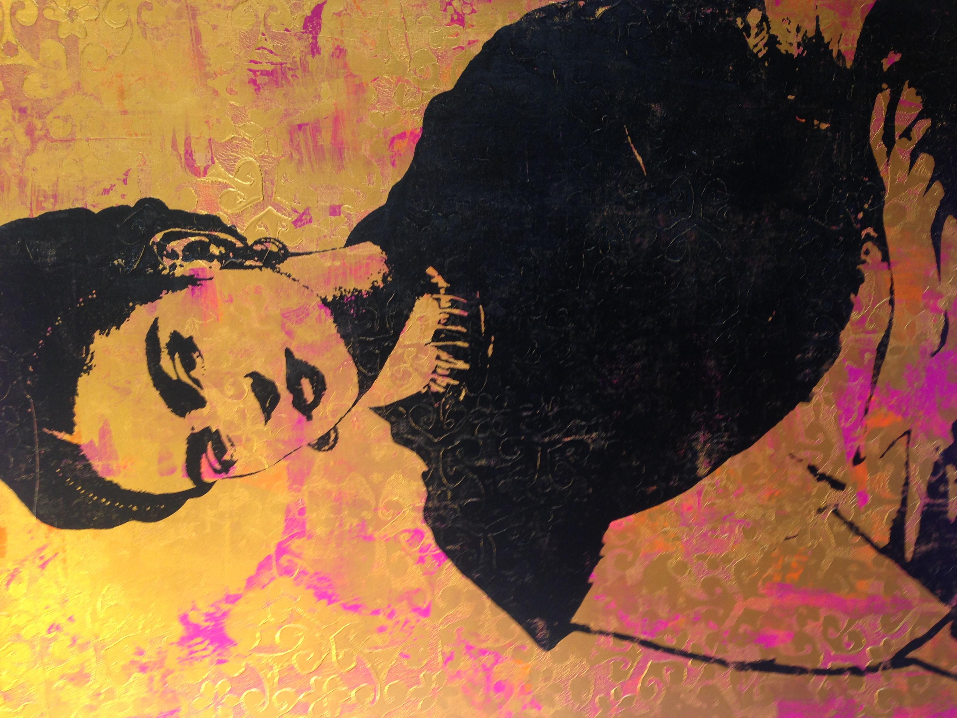 """Frida Kahlo"". Print by Georgia Barber."