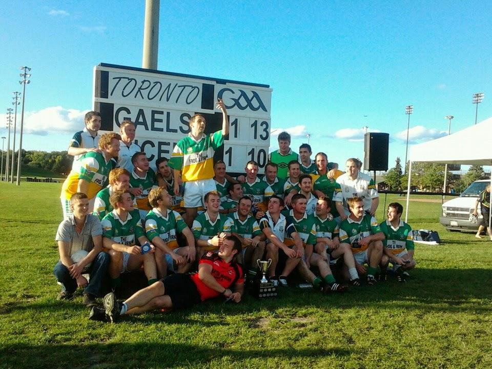 Toronto Gaels Gaelic Football 2012 GAA - 13