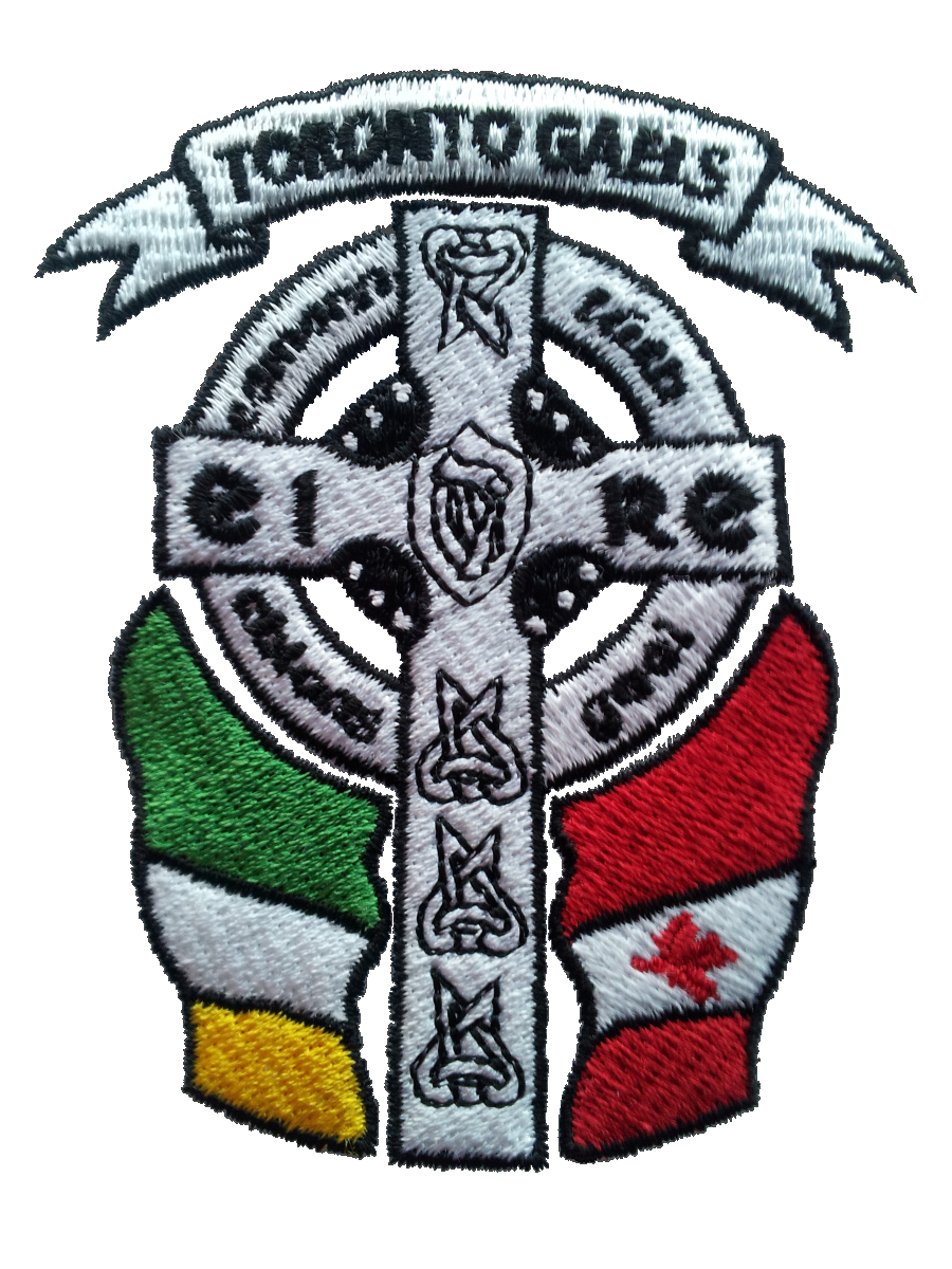 Toronto Gaels Gaelic Football Club - Gaels Crest Stitched.png