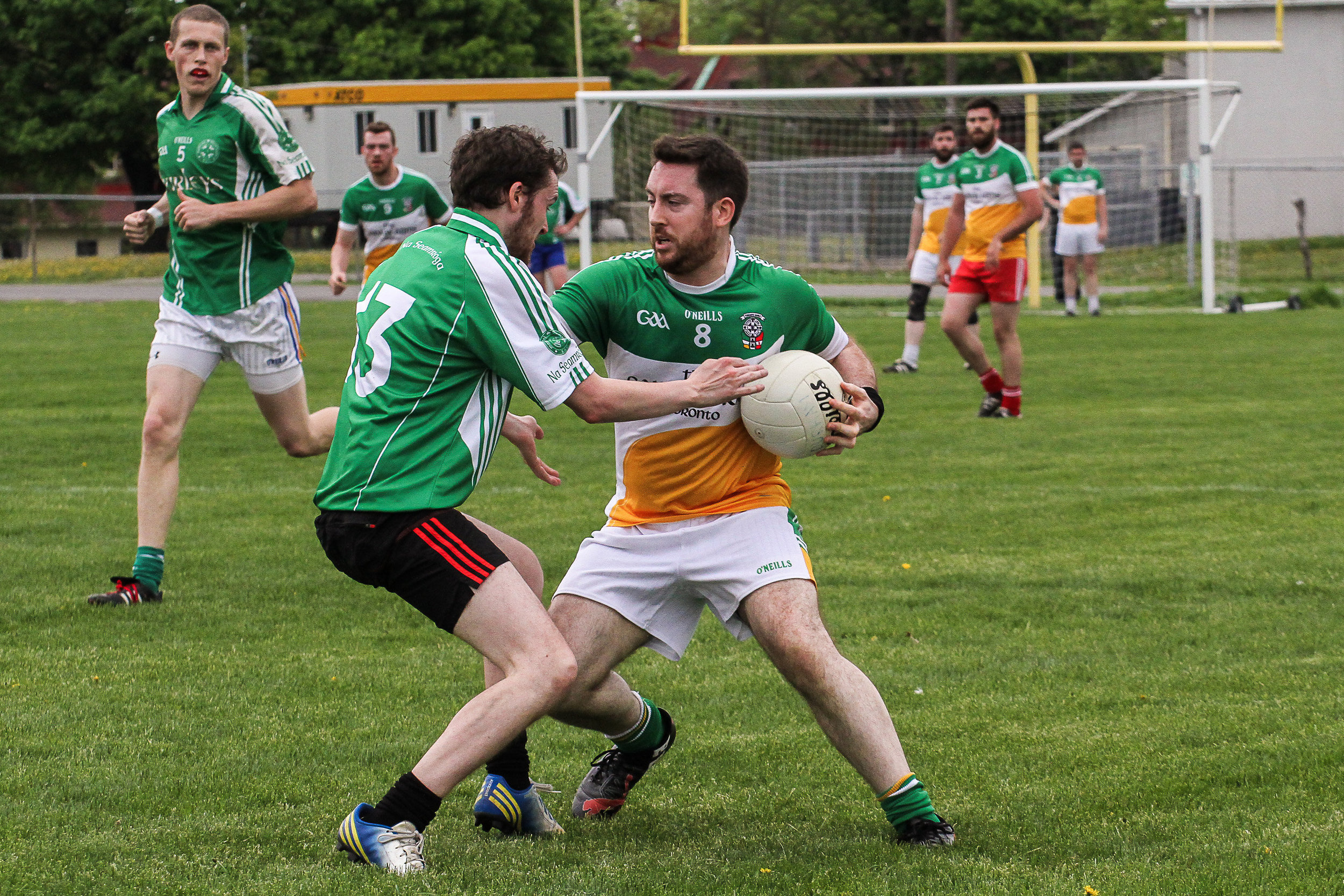 Toronto Gaels Gaelic Football Club - Montreal May Tournament 2015 - ShamrocksvsGaels(4of30).jpg