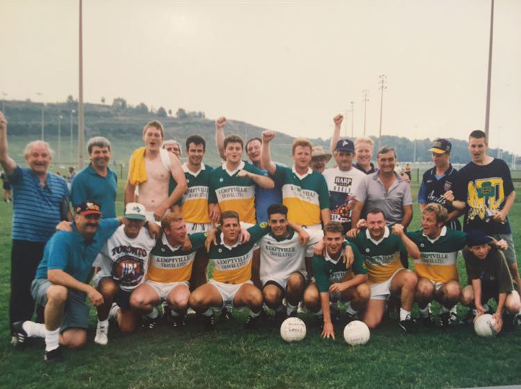 Toronto Gaels Gaelic Football Club 1994