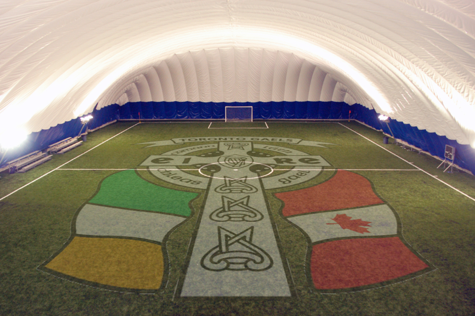 Polson Pier pitch Gaels Crest.png
