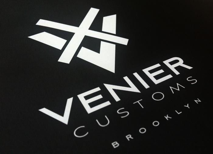 Venier Customs identity / design by Fabio Milito