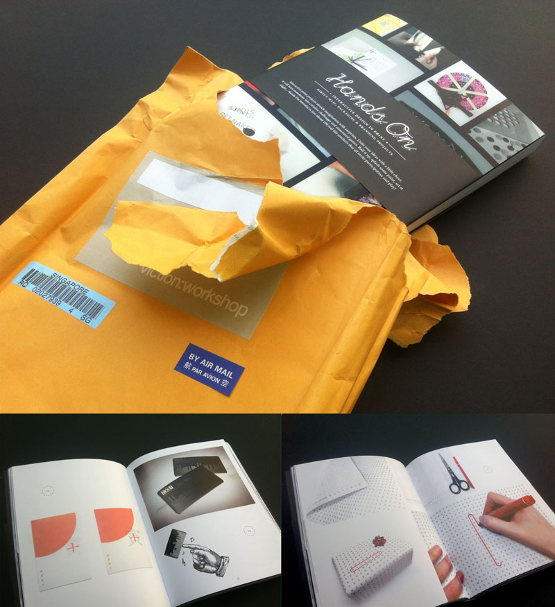 Hands On. Interactive design in print  |Victionary | Singapore | 2012