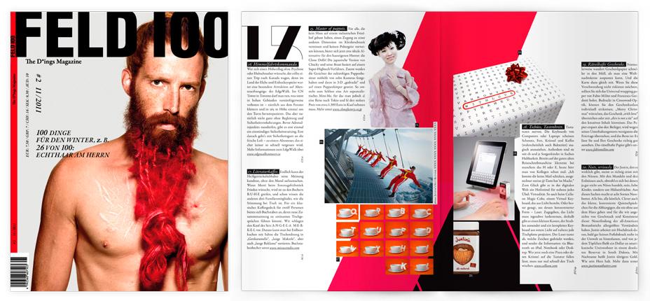 FELD MAGAZINE  | N.100 | Germany | 2011