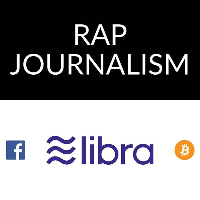 LINK IN BIO — Really excited to have just gone live with my first #RapJournalism piece, covering #Facebook's #Libra #cryptocurrency announcement. - I'd been thinking about the idea of Rap Journalism for the last couple of months, and when Facebook shook up the #crypto and general #finance / #political scene with their announcement last month, I saw this as the perfect first story to cover. - This was an ambitious project for me since I had to do basically everything myself: extensive research to make sure I provided a balanced opinion, crafting the overall narrative, translating that narrative into rap, tightening the flow, recording...that alone was a lot! And then it was a question of how to release it. Obviously #video is ideal, but I had never made a video. I questioned whether I should just add subtitles over a stable image, or over a video of me performing it into a camera...or if I should try my hand at creating something that actually reinforces the ideas, helping people understand everything more easily. I had to give it a go. - I picked up the basics of iMovie pretty quickly and started digging through images, prioritizing conveyance of the idea over quality or professionalism. At the end of the day, I'm just trying to serve up ideas that can be easily digested. And as my first attempt at that, I was really forgiving with it. No time for writer's (or editor's) block — I was on the clock! And this is really the only way to create. Fail fast, keep moving, learn from mistakes, improve as you go, and you'll level up so much faster than endless tweaking and /perfecting/ but never releasing. - Anyway, bit of background there to hopefully inspire more people to tread into the unknown areas of creation to ultimately make something new that can reach people in a way that their other work can. Hope you like the piece! If you do, please give it a Thumbs Up, Comment, Share...whatever. Thanks! - #inverseK #GreaterThan1 #ArtIsATool #techRap #topicalRap #journalism #youtuber #newShit #humbleBeginnings