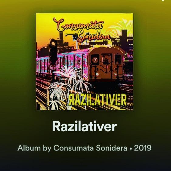 Don't forget to check out #RAZILATIVER wherever you stream music! #consumata #consumatasonidera #tropical #punk #cumbia #tropicalrockers #reggae #nyc