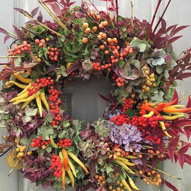 Autumn Glory #portlandfarmersmarket #mywreaths.com #wowgift!