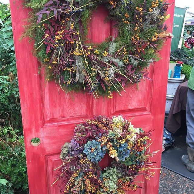 What's on your door? #fall #mywreaths.com