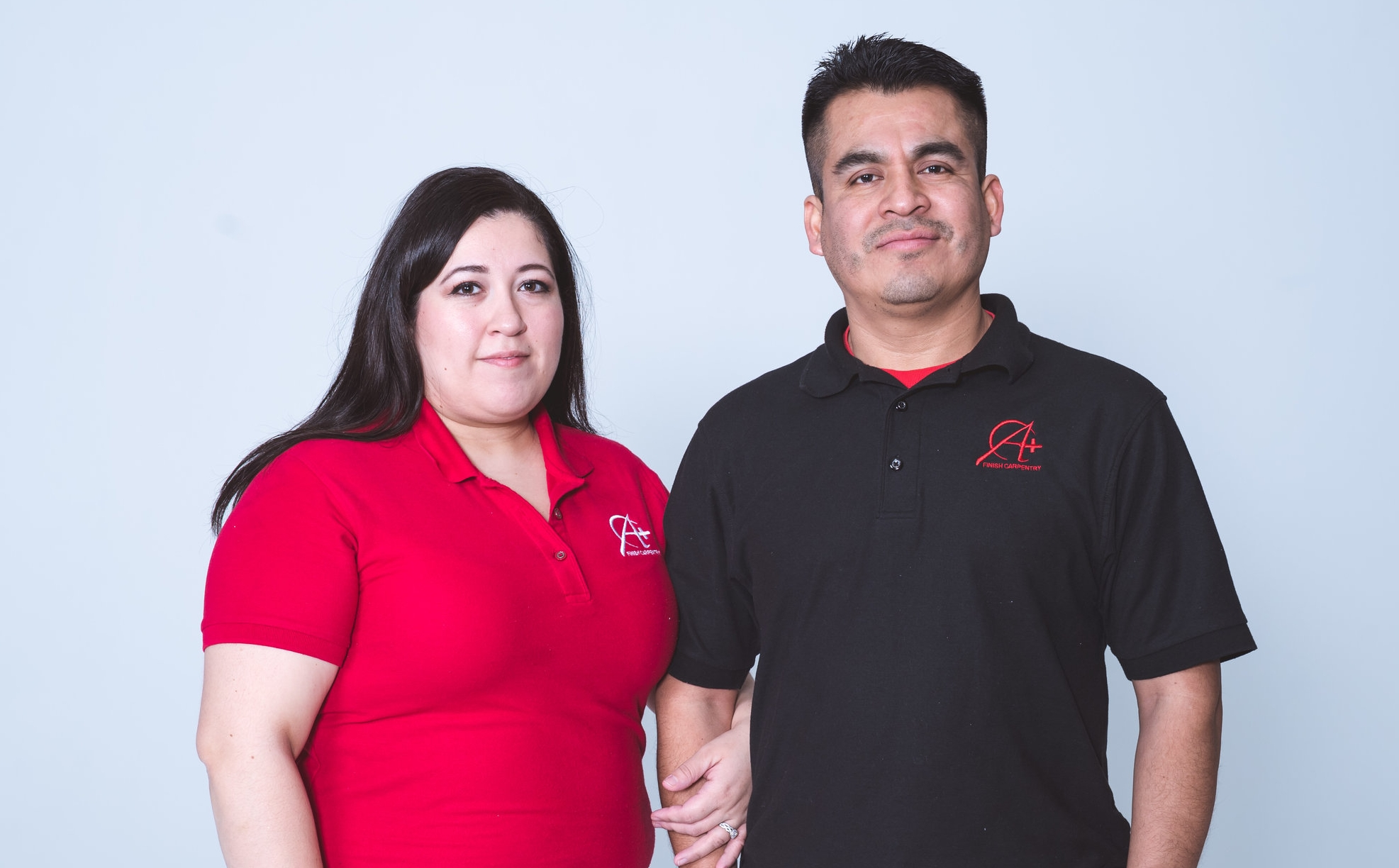 Ana and Rody Gonzalez, Owners of A+ Finish Carpentry