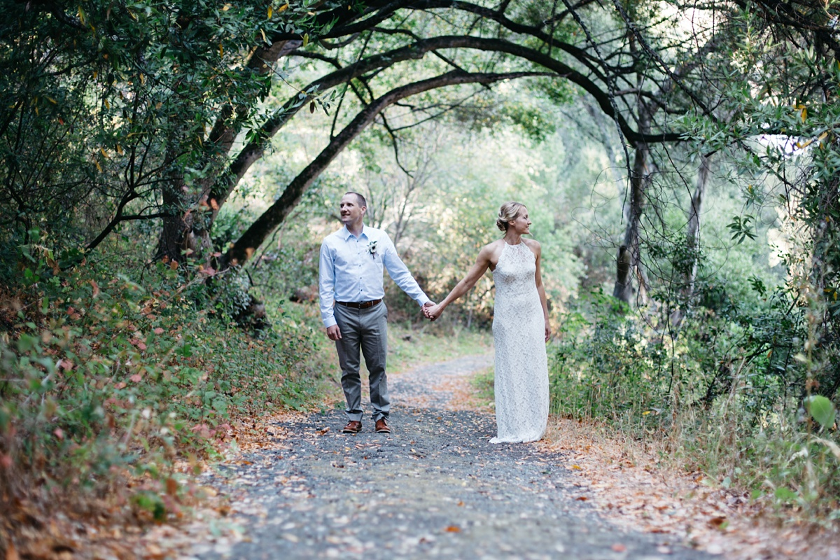 San Pablo Reservoir wedding