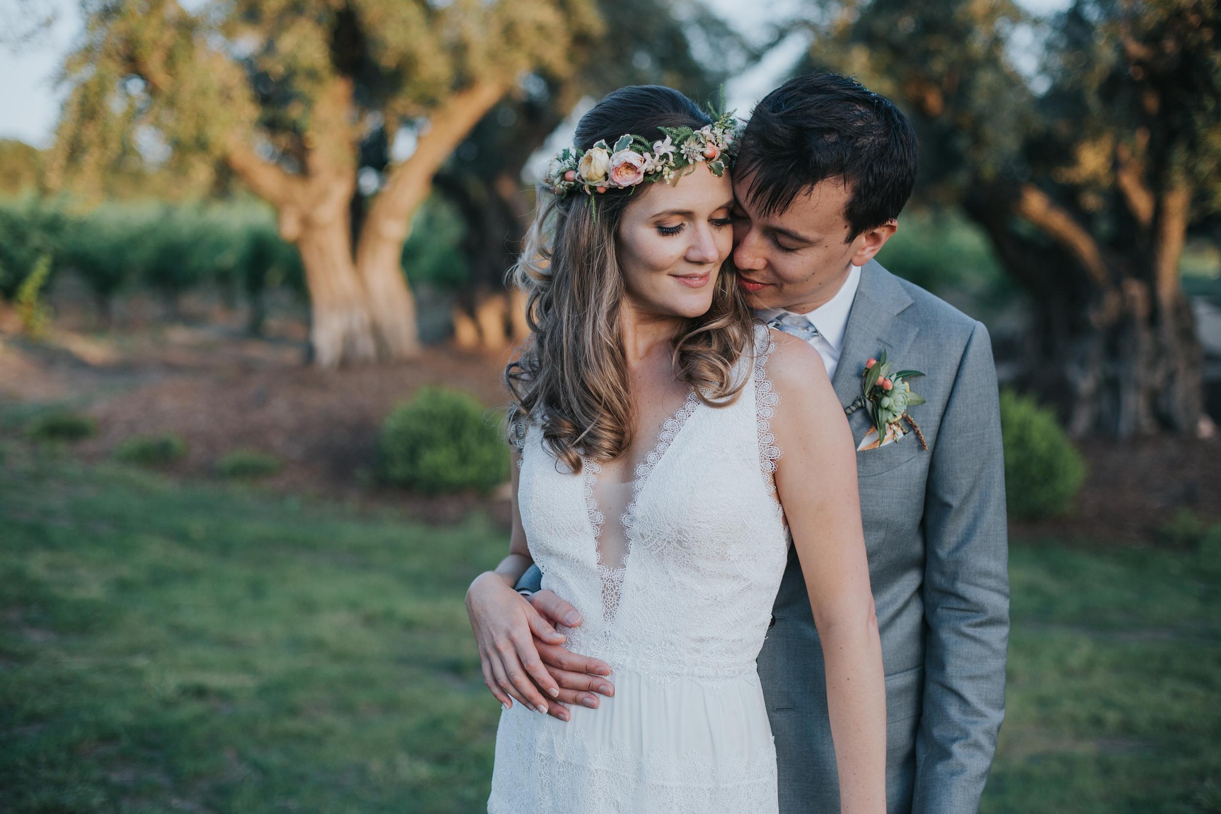 Ru's farm Wedding | Healdsburg CA | bride and groom
