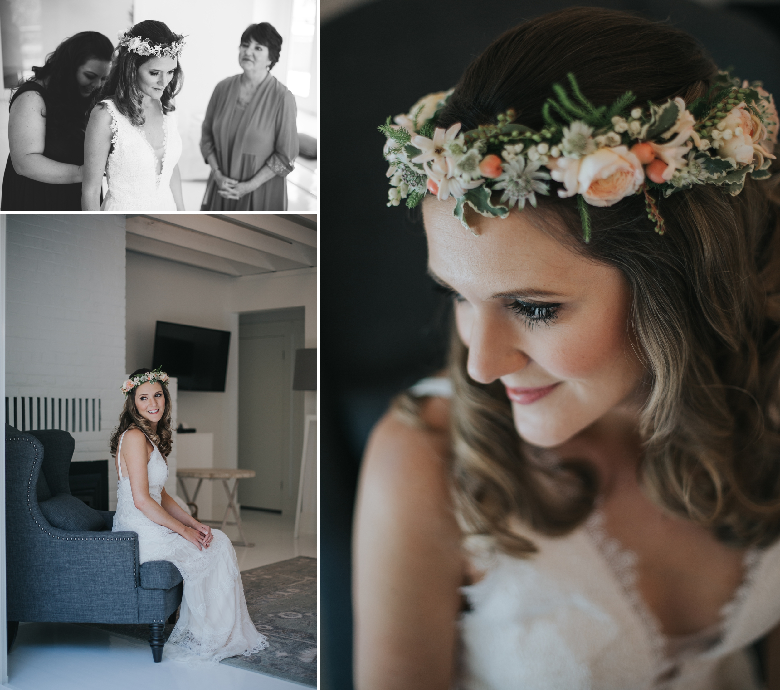 Ru's farm Wedding | Healdsburg CA | bride getting ready