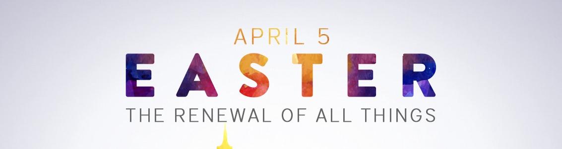 Celebrating the resurrected Christ.