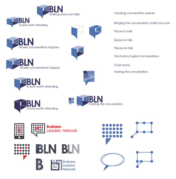 BLN Logo development