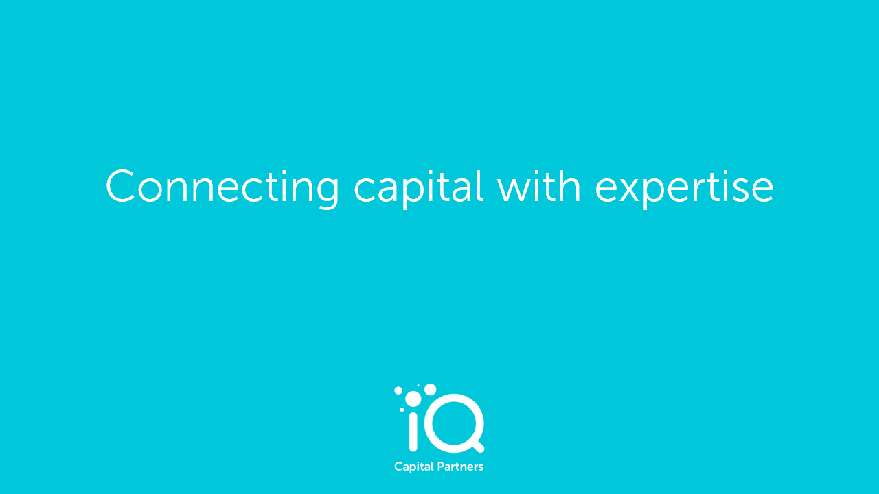 IQ Capital logo and tagline