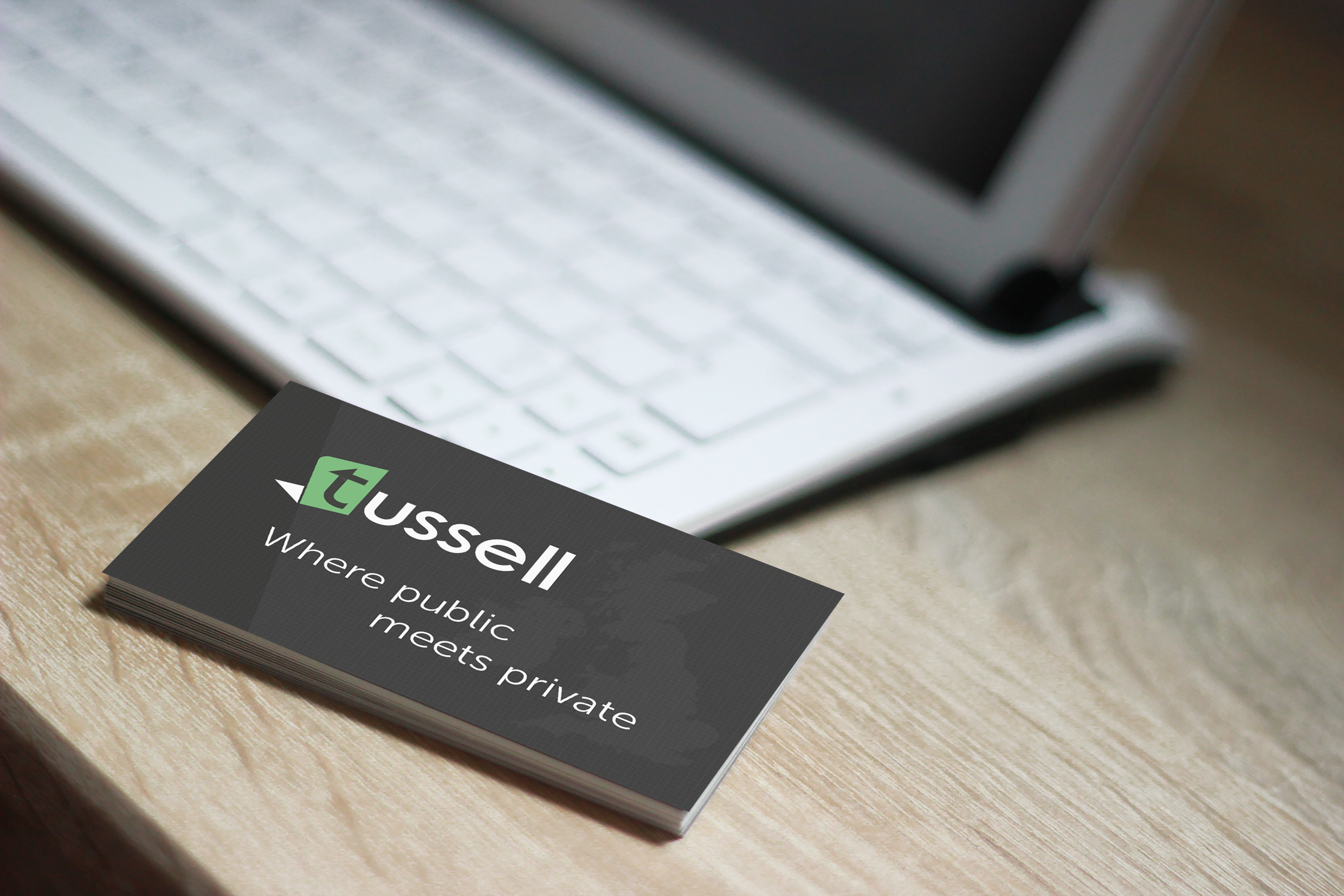 Tussell business card