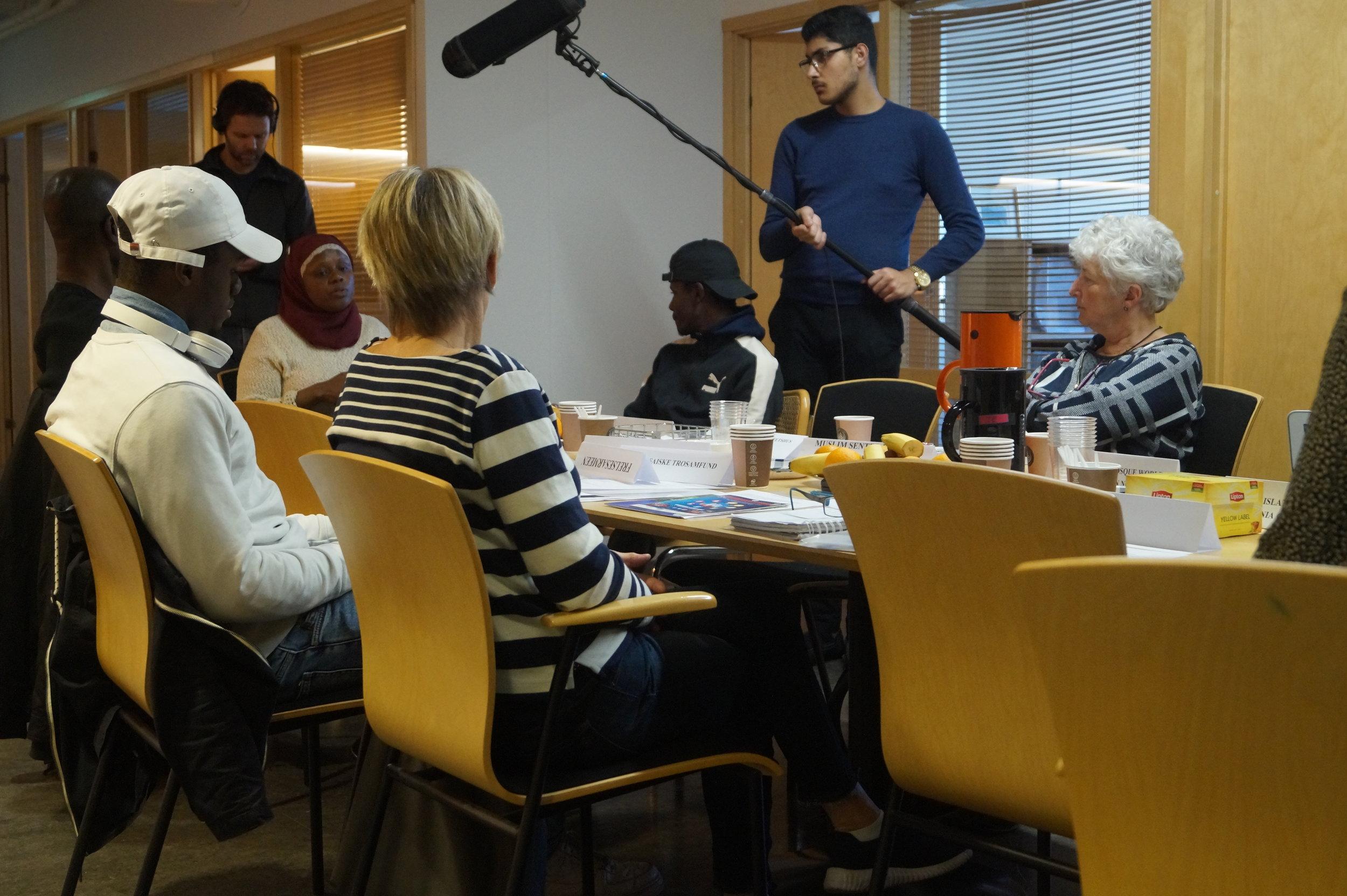 Første samarbeidsmøte med Abloom ifb med prosjekt Abloom bryter ned tabuer