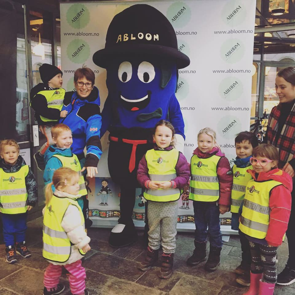 Så heldige vi var som fikk besøk av fire flotte barnehager på Barnehagens dag på Cinemateket!