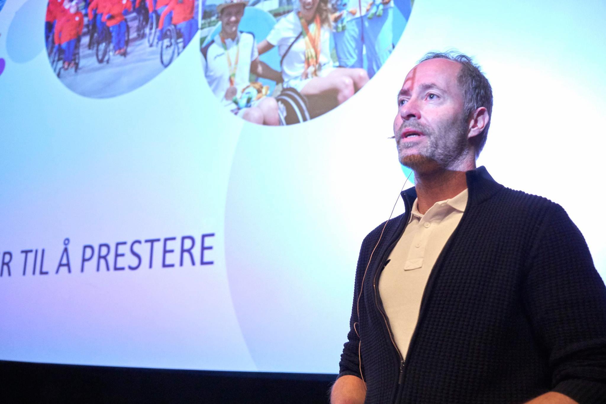 Knut Nystad, daglig leder i Stiftelsen VI ga oss et godt innblikk i de store mulighetene som finnes innenfor idretten.