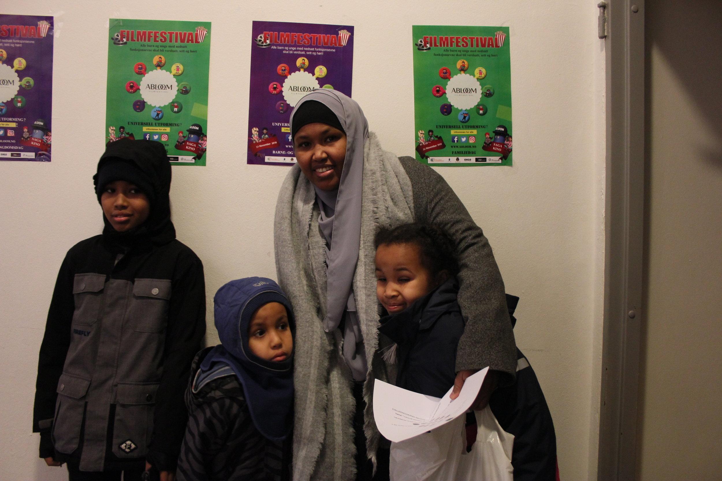 Suad var en av mange foreldre som var veldig fornøyd med årets festival