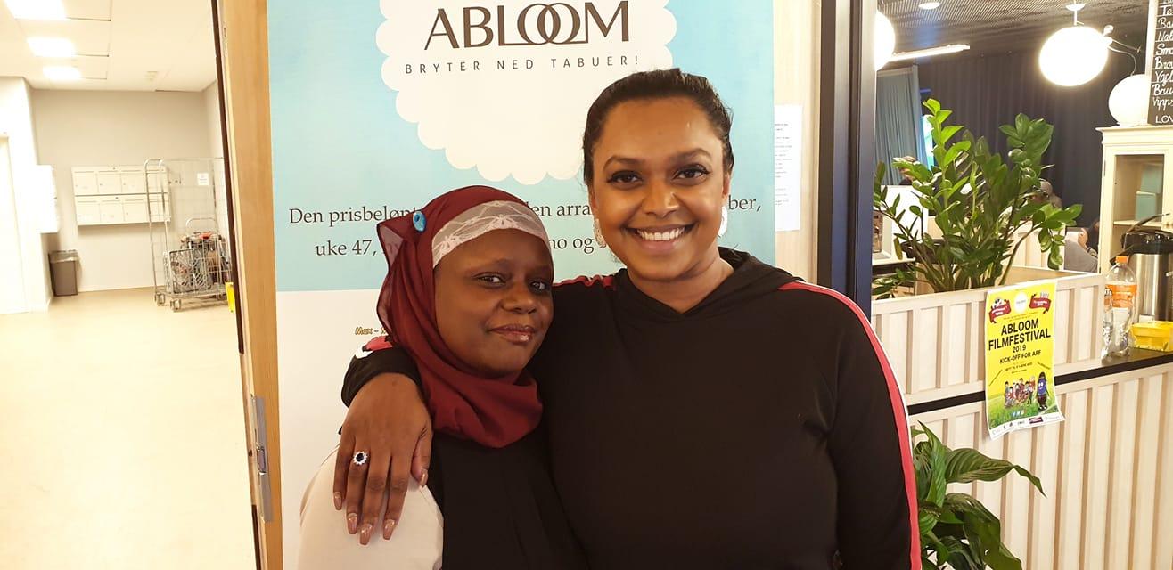 ENGASJERT VARAORDFØRER: Kamzy Gunaratnam deltok på Abloom Workshop 11. februar. Hun