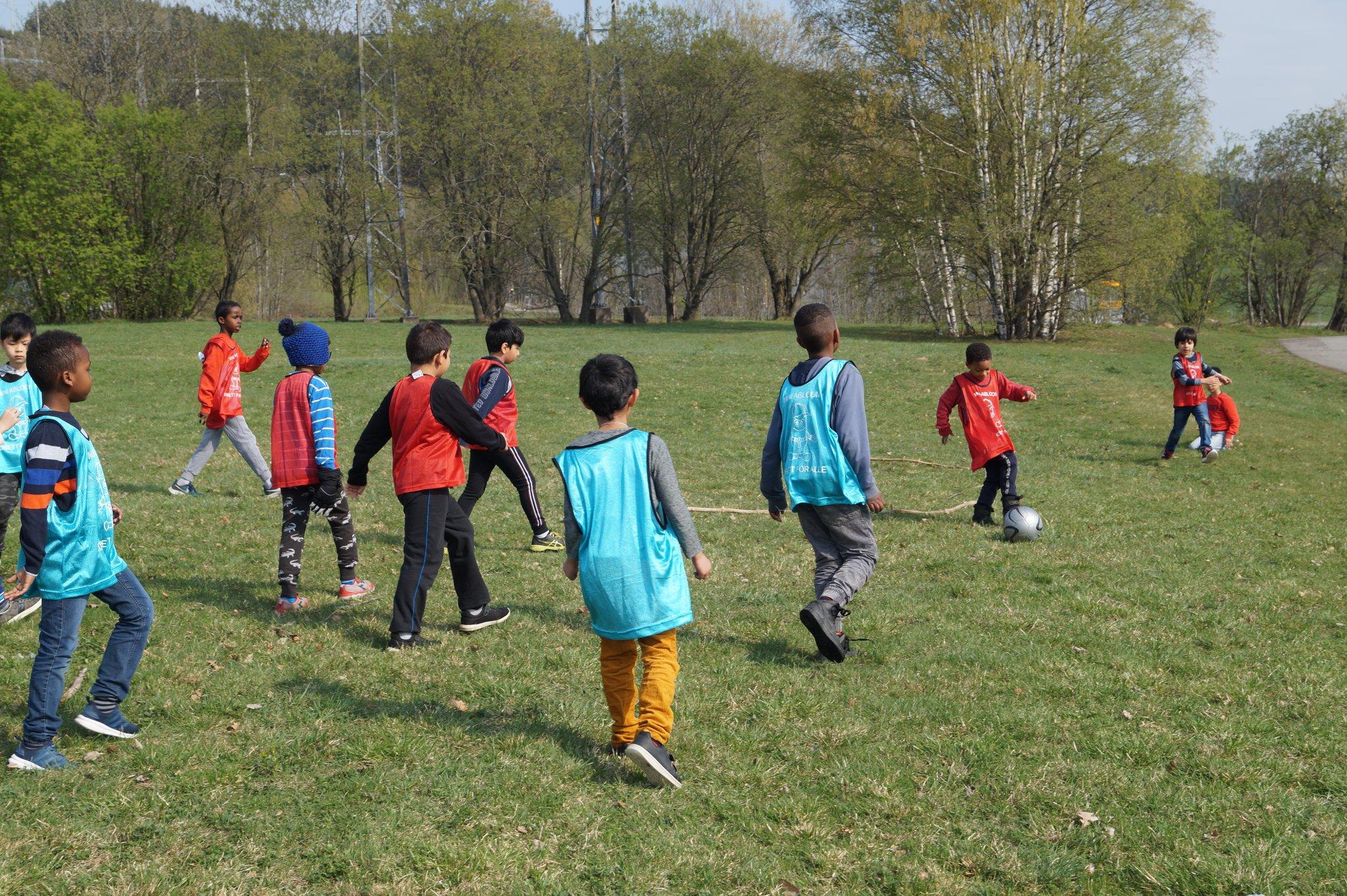 Alle barn skal ha rett til å delta i idrett, uansett funksjonsnivå.