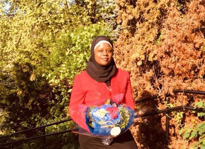 Abloom-leder Faridah Nabaggala.