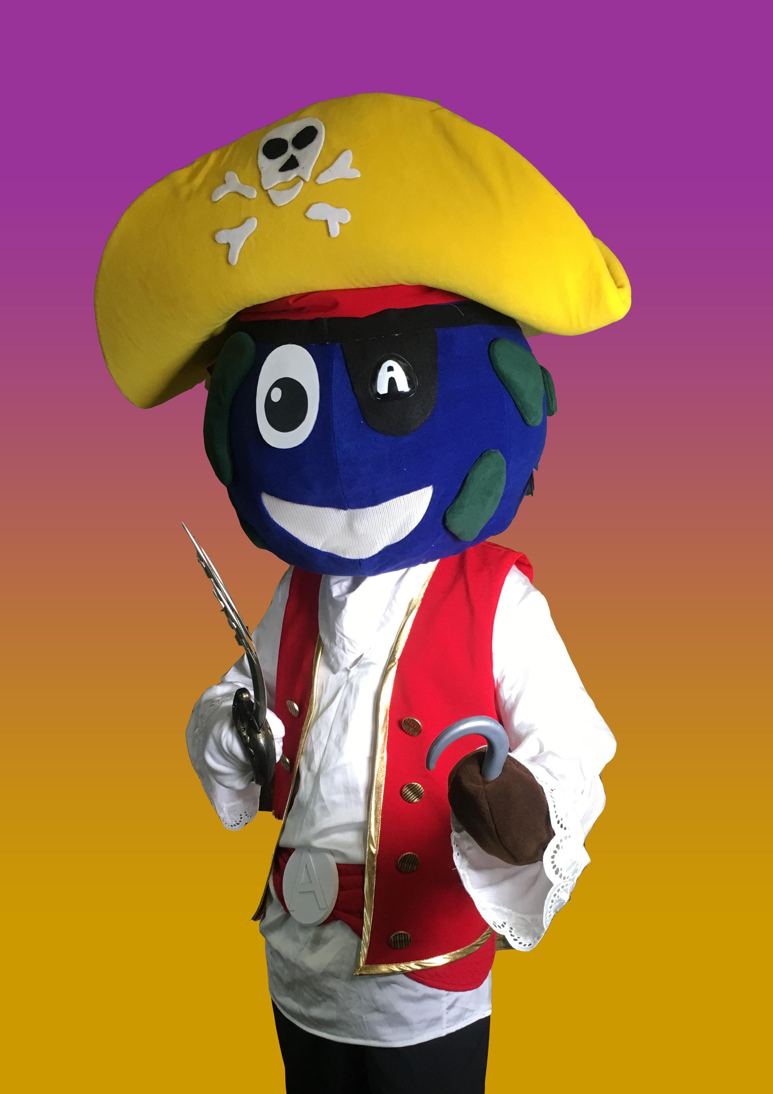Kaptein Abloom (pirat) er Ablooms andre, nye personlighet som blir å se på festivaler fremover.