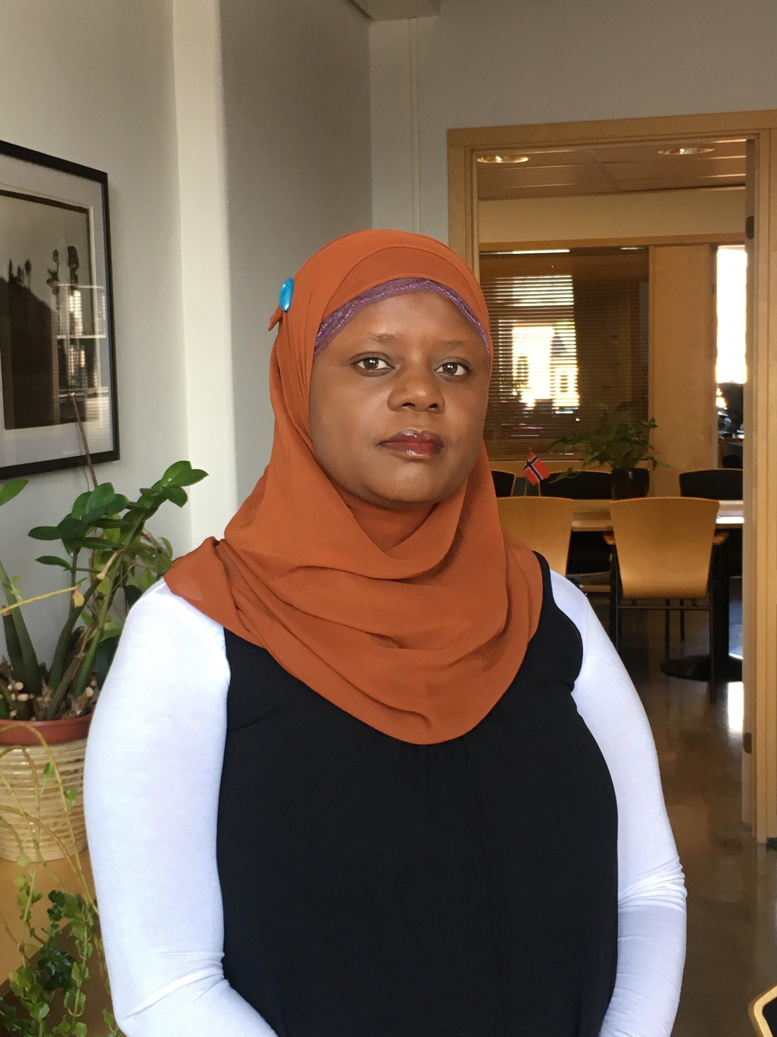 Ablooms grunnlegger, Faridah Nabaggala.