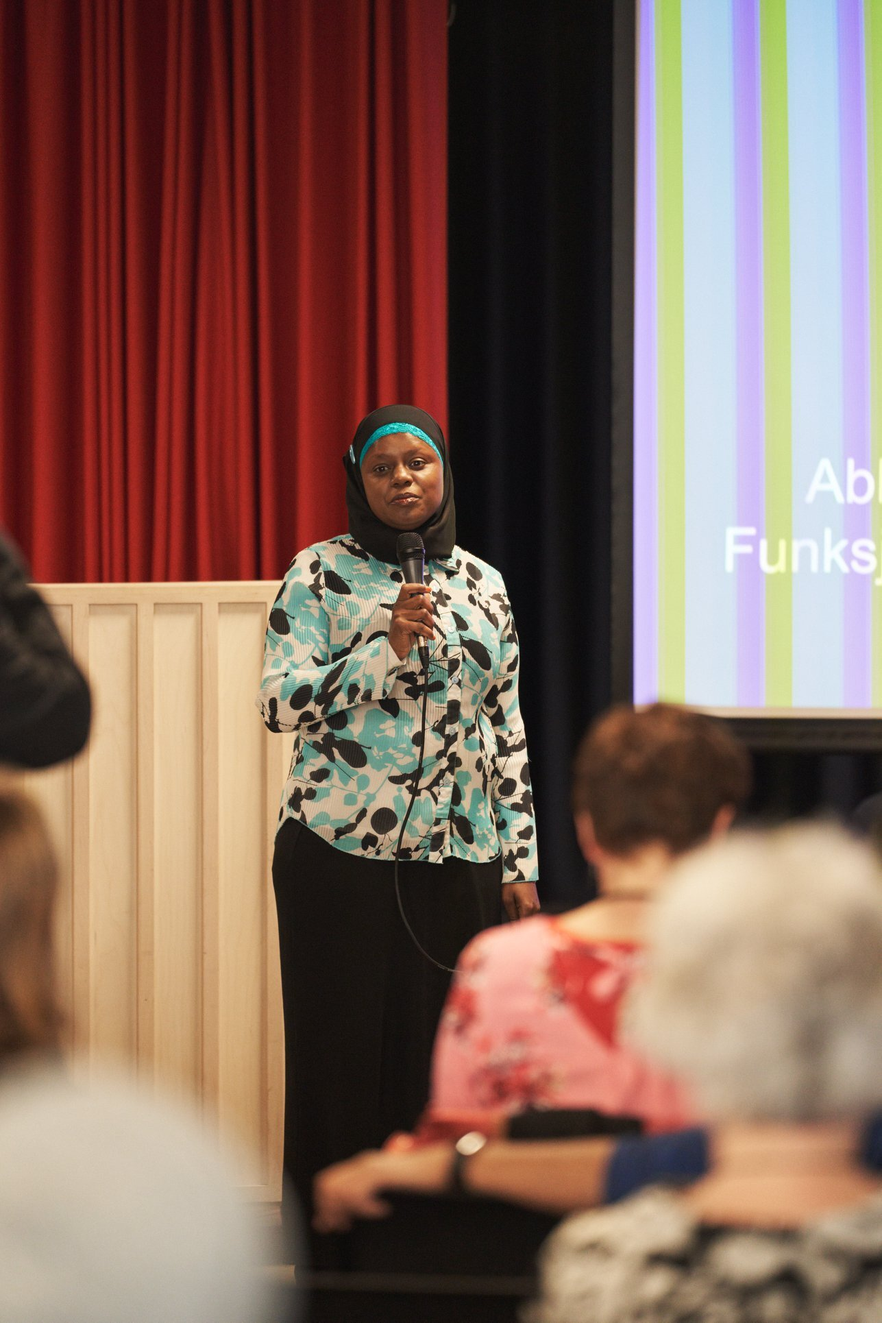 Festivalsjef Faridah Nabaggala er ivrig og spent før filmfestivalen i november.