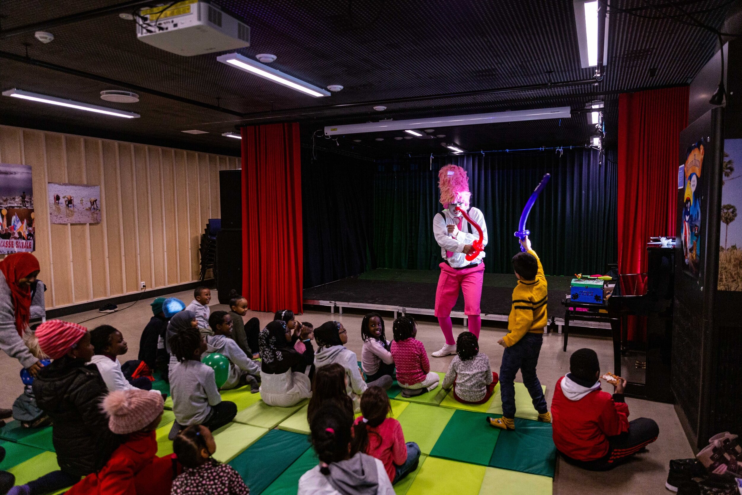 Barna var i fokus under årets første AFF-dag. Foto: Alf Andreas Grønli Simensen.