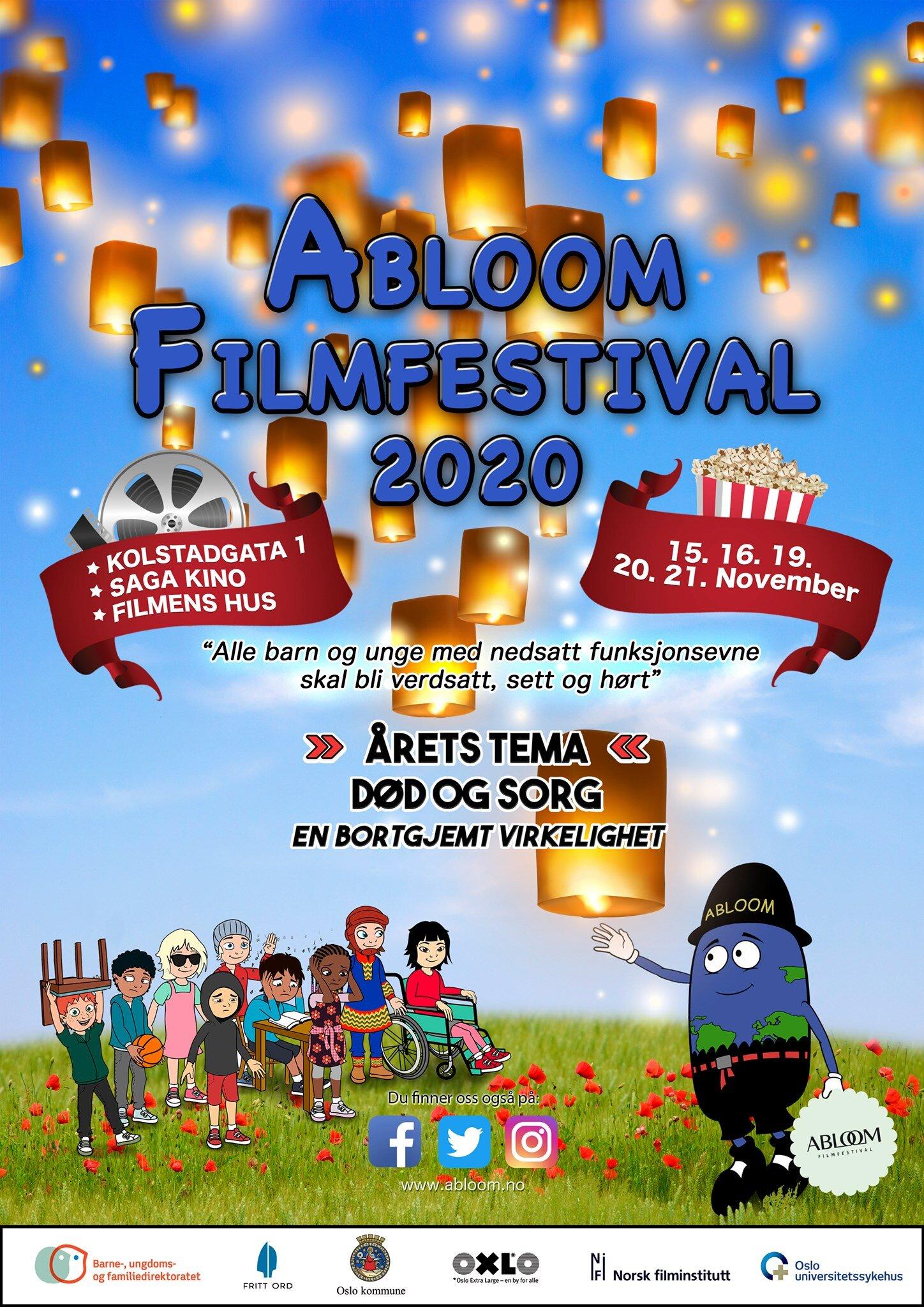 Plakaten for AFF 2020.