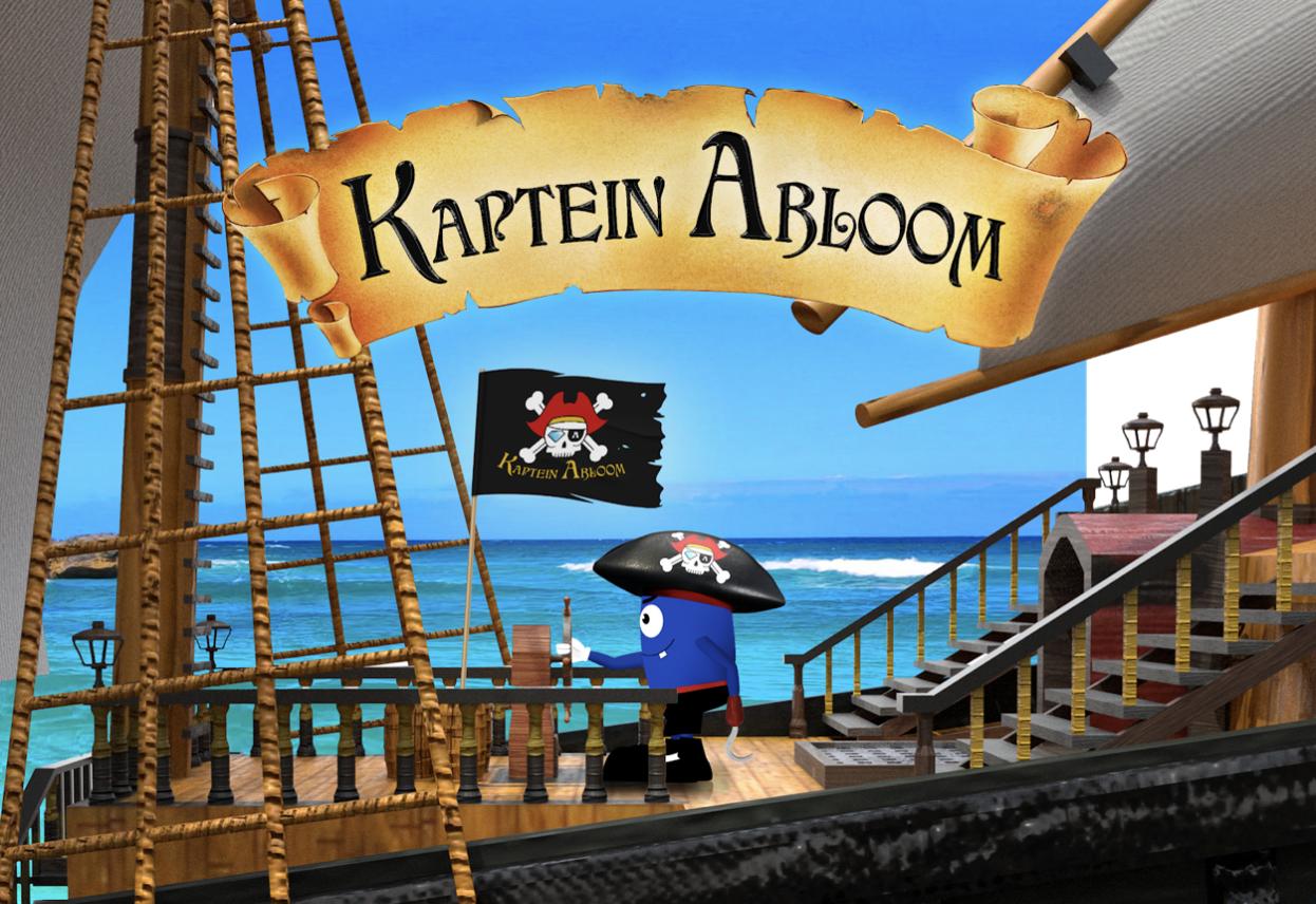 Kaptein Abloom har kommet i enda en variant og fått seg egen skute.