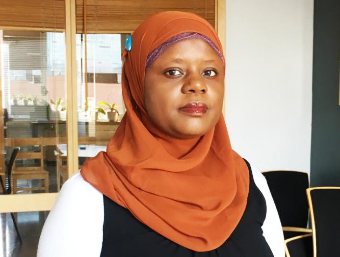 Abloom-direktør Faridah Nabaggala.