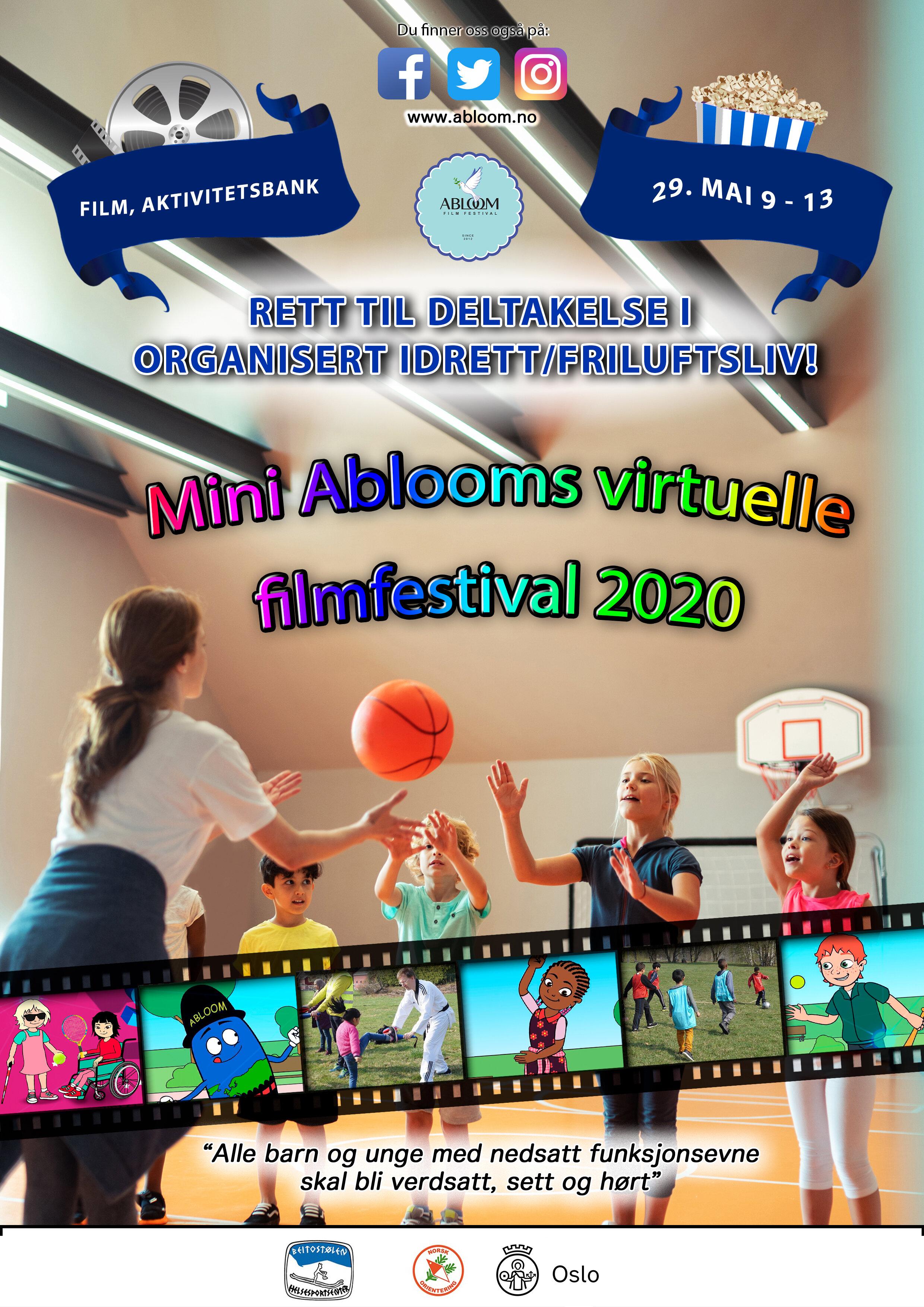 #MiniAbloom 2020 virtuelle filmfestival 2020!