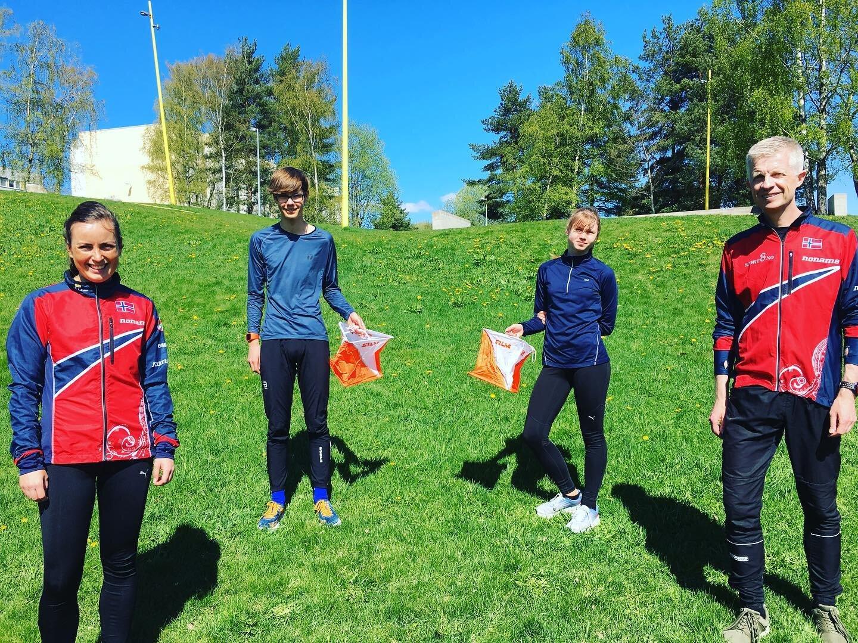 Samarbeidet med Norges Orienteringsforbund pågår.