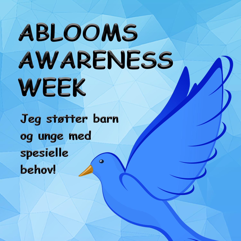 Abloom Awareness Week er et nytt tiltak for å øke kunnskap og bevissthet rundt funksjonsnedsettelser.