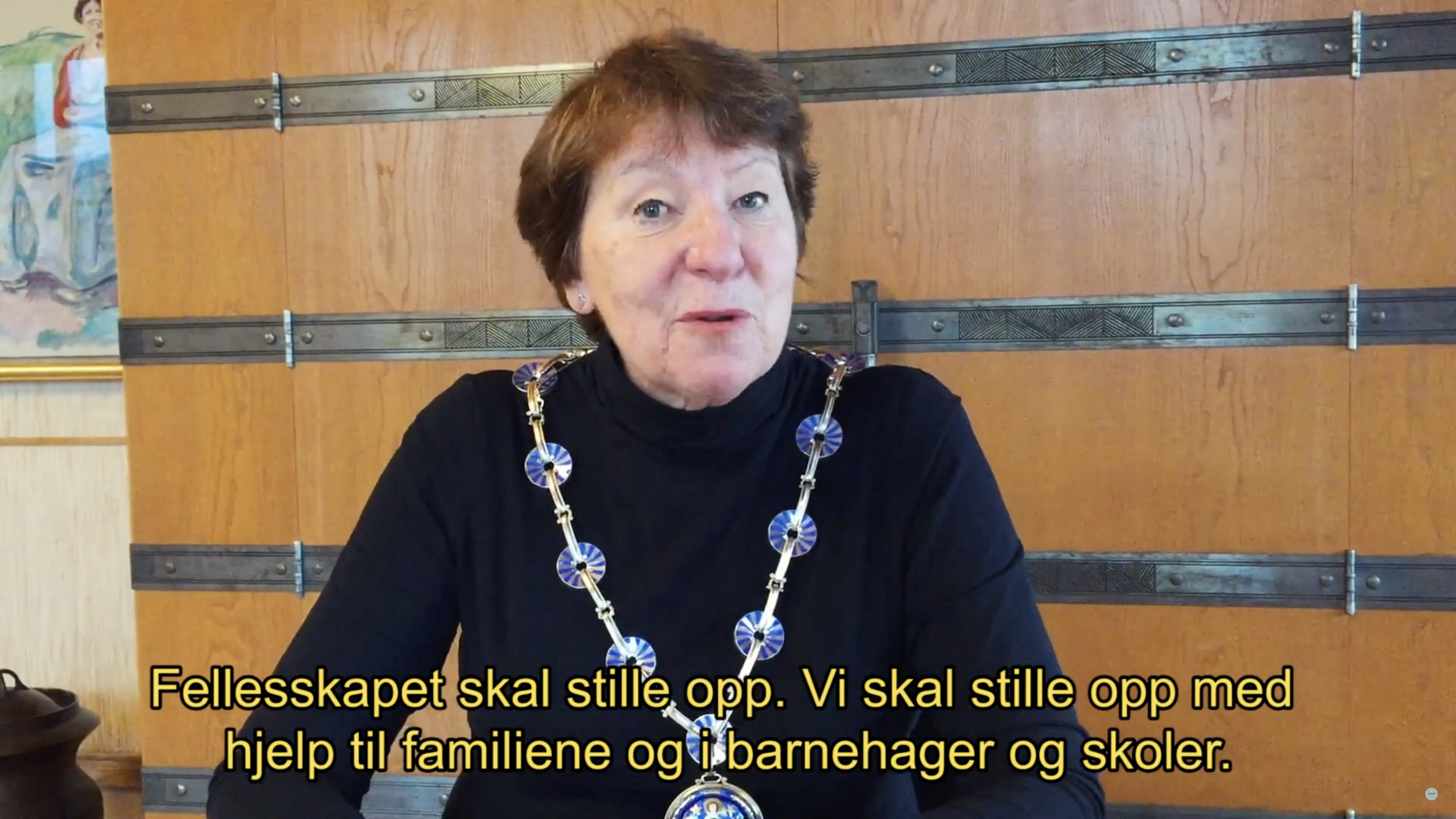 Appeal from Oslo mayor Marianne Borgen