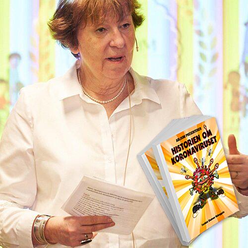 Ordfører Marianne Borgen deltar på Ablooms boklansering