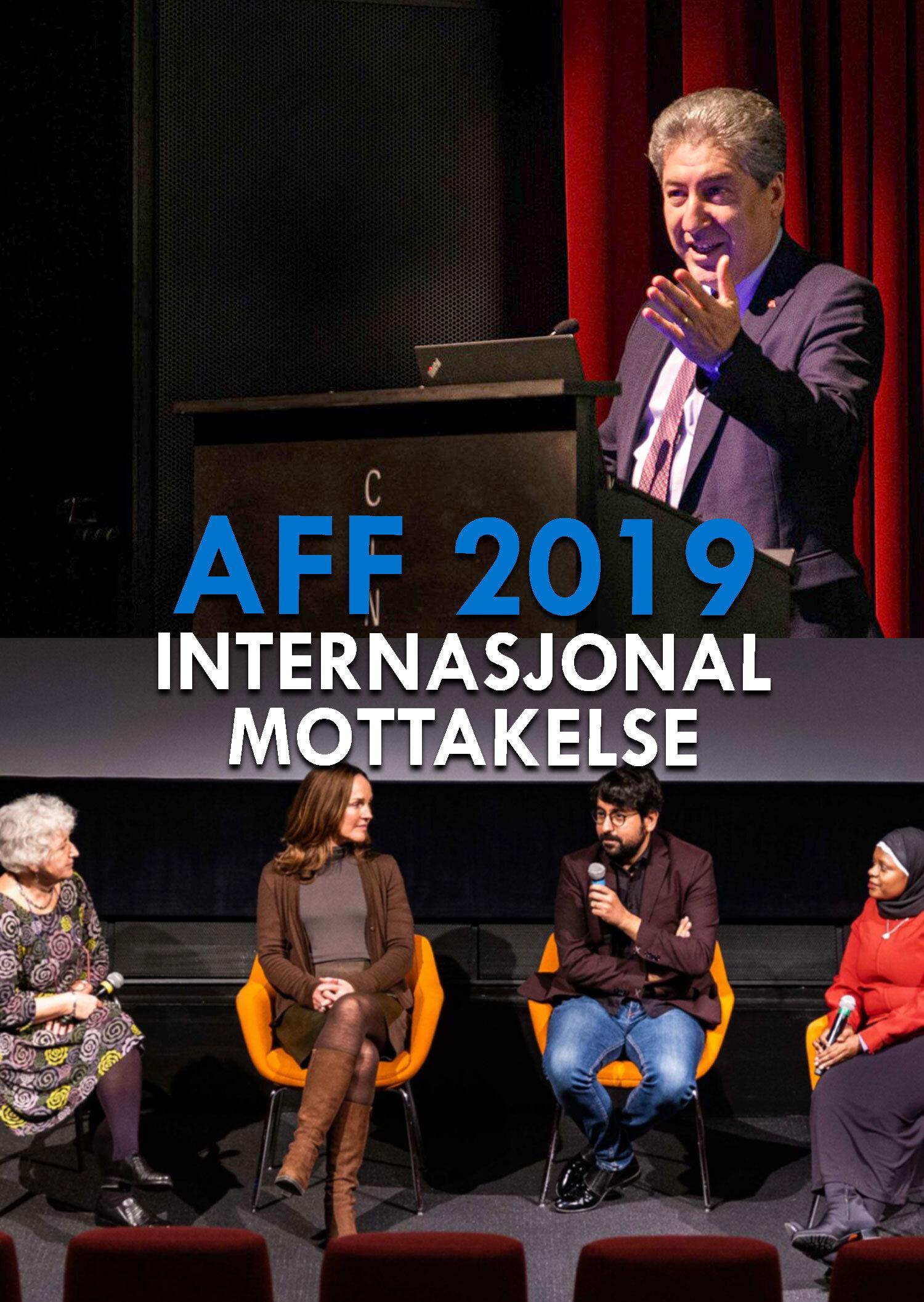 Internasjonal Mottakelse 2019