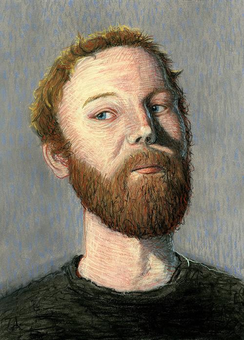 Self portrait by Tim Dixon