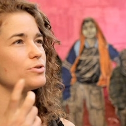"""Caledonia Curry, Artist who goes by Swoon  """"Connecting with the Million Person Project was  life changing.  The work we did allowed me to create a bridge between the visual art that I have spent my life creating and the formerly silent personal history that I bring to my practice."""""""