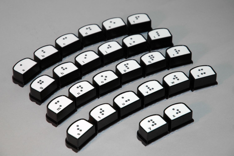 Brailleblox braille alphabet blocks