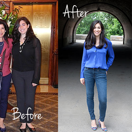 Jamie lost 40 pounds through Intuitive Eating!