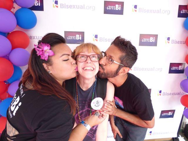 One of amBi's signature Bi Kisses