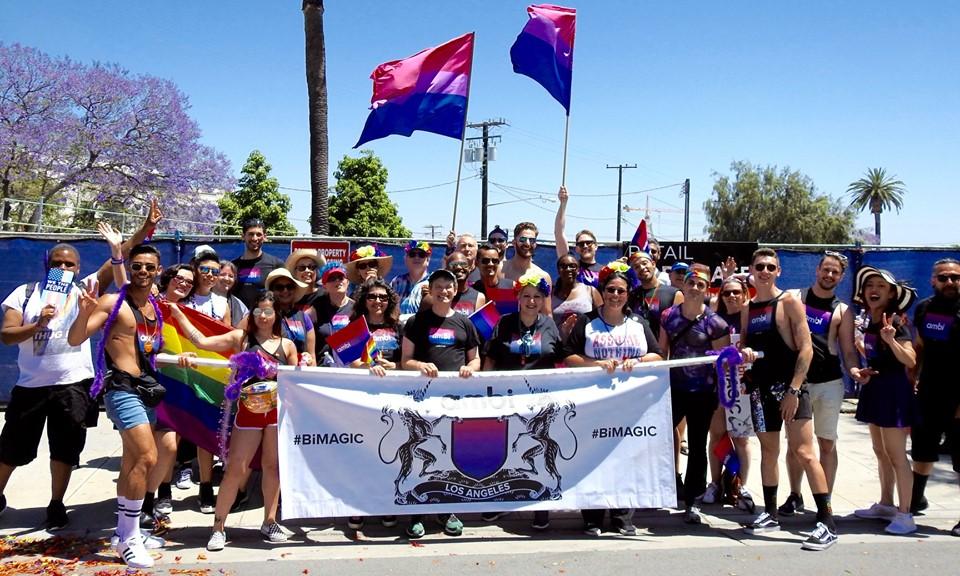 ambi at LA Pride 2019