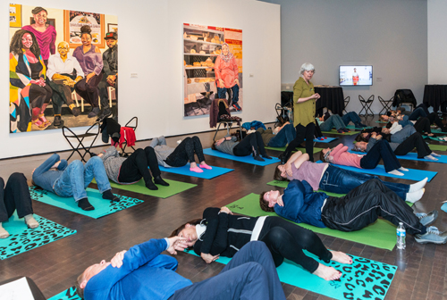 "Feldenkrais Presentation ""Mindful Movement and Self-Image"" at the Denver Art Museum's   UNPLUGGED   Program, March 15, 2019.   BLOG Interview"