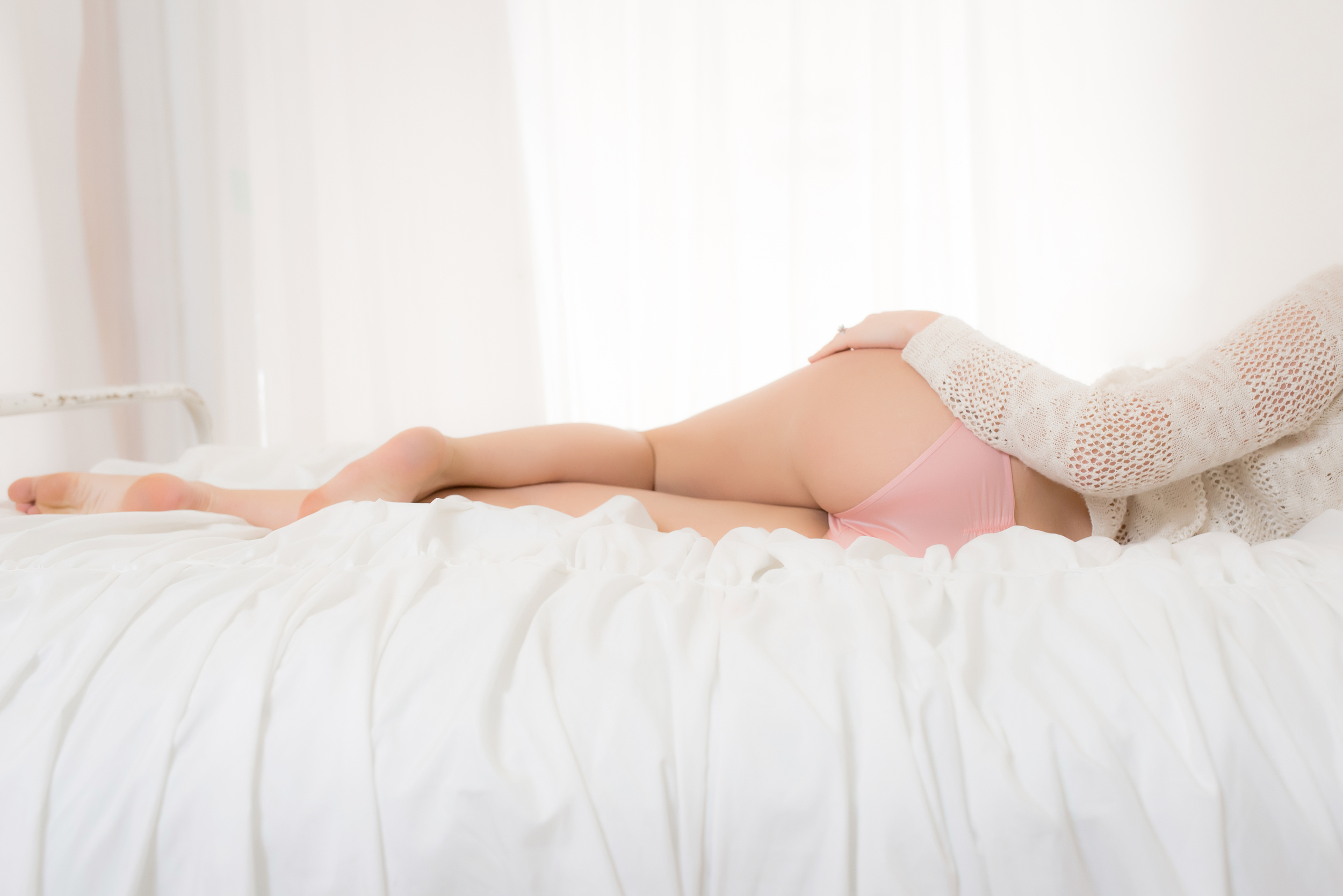 West Michigan Boudoir Bootie